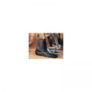 boty kožené ECO