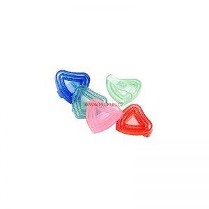 hřbílko gumové srdce