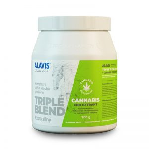 Alavis Triple Blend Extra silný + Cannabis CBD Extrakt